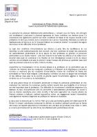 2018 01 16_CP_Emilie Chalas_Soutien au personnel pénitentiaire