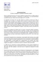 2018 03 05_CP Emilie Chalas_PJL Asile Les procès en inhumanité ça suffit