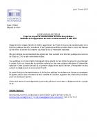 20190418_CP Emilie Chalas_PJL Fonction publique_Auditions en Isère
